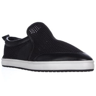STEVEN by Steve Madden Evan Slip-on Perforated Sneakers - Black Multi