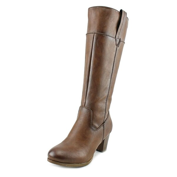 Patrizia By Spring Step Mastaza Round Toe Synthetic Knee High Boot