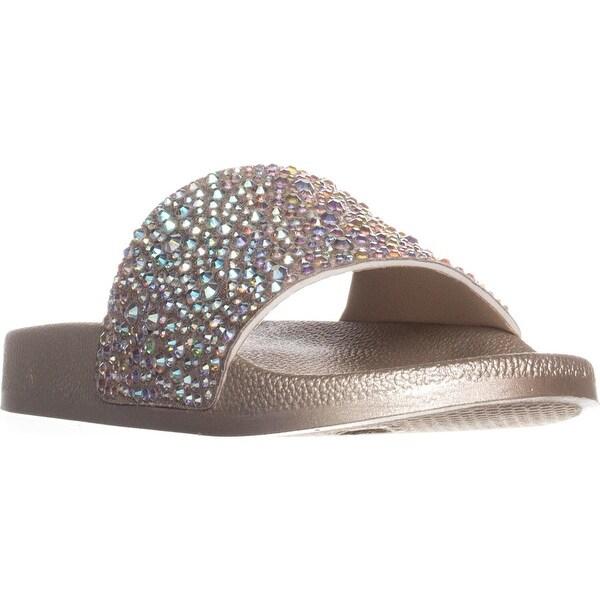 I35 Peymin2 Slip On Slide Sandals, Champagne