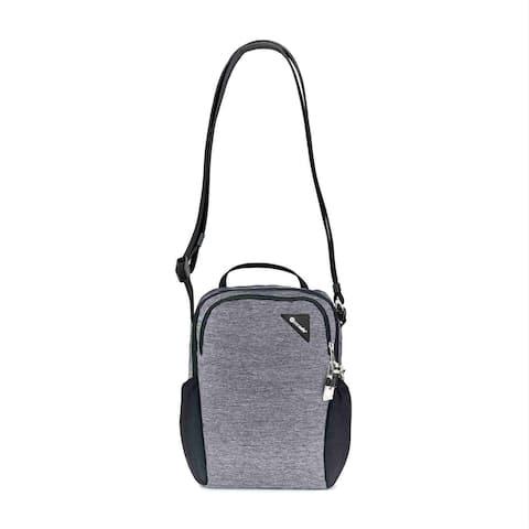 Pacsafe Vibe 200 Crossbody-Granite Melange Anti-theft Compact Travel Bag