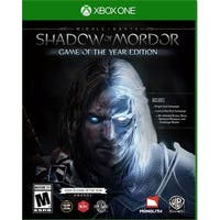 Middle Earth Shadow of Mordor Game of the Year Edition - Xbox One