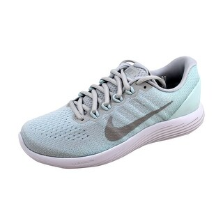 Nike Women's Lunarglide 9 Pure Platinum/Chrome 904716-014 (More options available)
