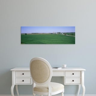 Easy Art Prints Panoramic Images's 'Farm Marion County IL USA' Premium Canvas Art
