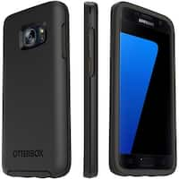 OtterBox Symmetry Series Sleek Durable Case for Samsung Galaxy S7 - Black