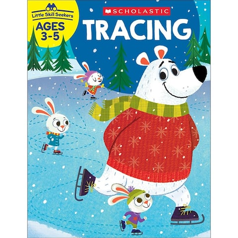 Scholastic little skill seekers tracing 830632