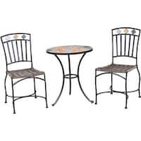 Hipp Hardware Plus 3Pc Santorini Bistro Set S18S7561 Unit: EACH