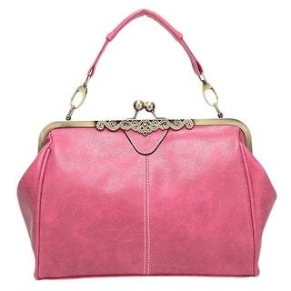 2d3b593eb9 Quick View.  23.49 -  26.49. QZUnique Women s PU Leather British Style  Message Bag ...