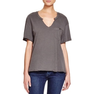 Project Social T Womens Mason T-Shirt Cotton Short Sleeves