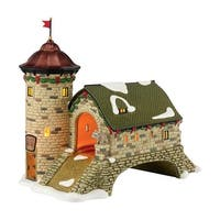 "Department 56 Alpine Village LED Lighted ""Rüdesheim Turmbrücke"" Accessory #4036485"
