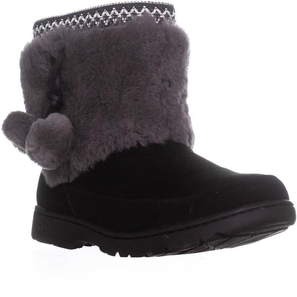 5ab992ffe13 ... Women s Shoes     Women s Boots. UGG Australia Brie Side Pom Pom Pull On  Boots