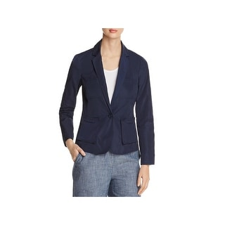 Kenneth Cole Womens Blazer One Button Vented
