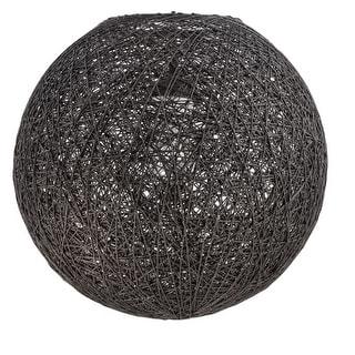 "Jeremiah Lighting N703 14.25"" x 15"" Globe Woven Pendant Shade for Medium (E26) B"