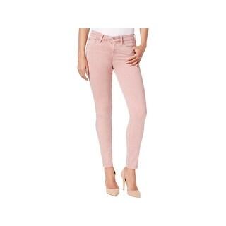 Buffalo David Bitton Womens Colored Skinny Jeans Denim Mid-Rise