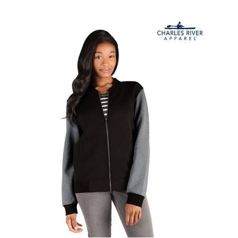 Womens Full Zip Varsity Jacket