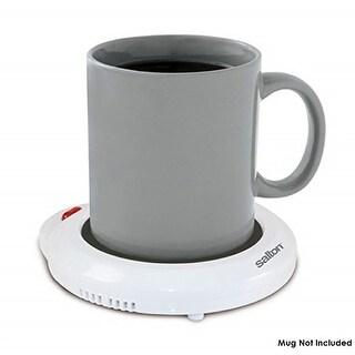 Salton Electric Mug Warmer, Multipurpose Warming Pad, White