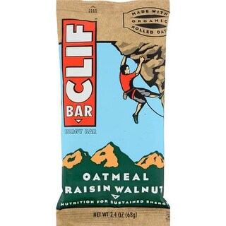 Clif Bar - Oatmeal Raisin Walnut Clif Bar ( 12 - 2.4 OZ)