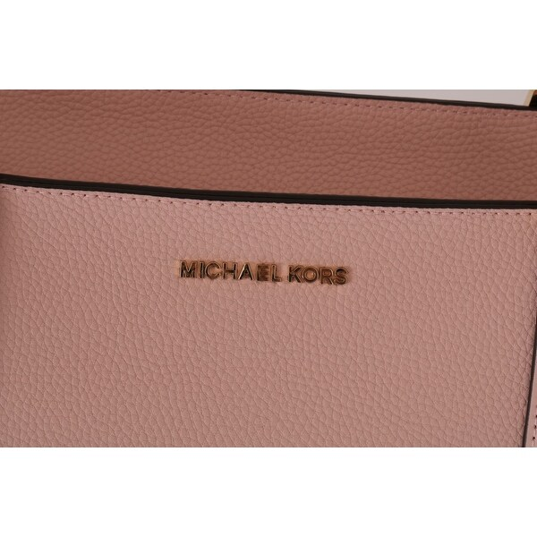 Shop Michael Kors Pink KIMBERLY Leather Tote Women's Bag