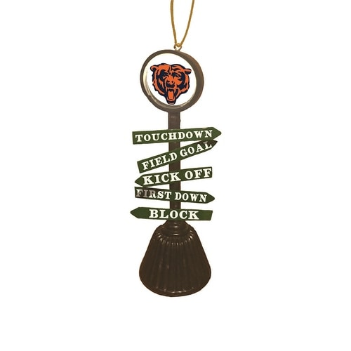 Chicago Bears Fan Crossing Ornament