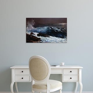 Easy Art Prints WInslow Homer's 'Sunlight on the Coast' Premium Canvas Art