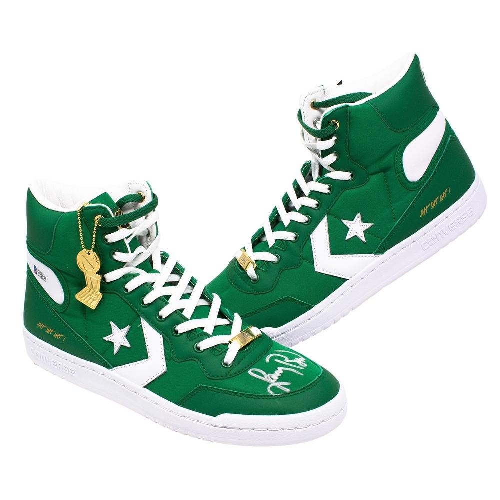 Larry Bird Boston Celtics Signed Pair