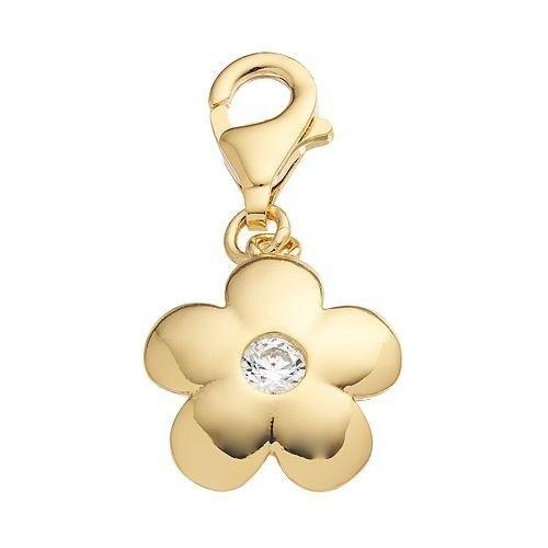 Julieta Jewelry Round Flower Clip-On Charm