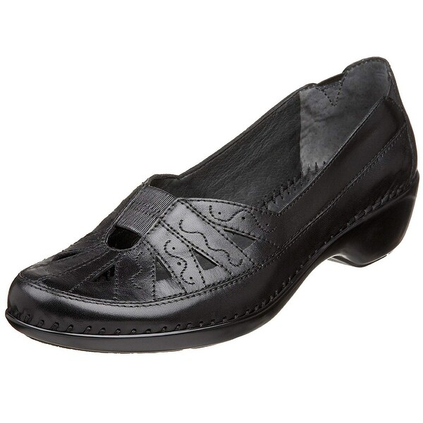 Easy Spirit Womens dixiee Leather Closed Toe