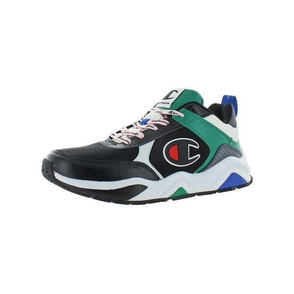 e18fe5cea61 Shop Champion Mens 93Eighteen Block Fashion Sneakers Casual Low-Top ...