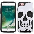 Insten Skullcap Hard PC/ Silicone Dual Layer Hybrid Rubberized Matte Case Cover For Apple iPhone 7 - Thumbnail 6