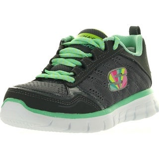Skechers Girls' Synergy Sweet Spot Fashion Sneakers - Charcoal