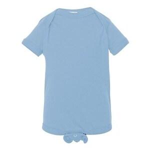 Infant Fine Jersey Bodysuit - Light Blue - 24M