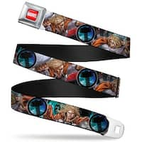 Marvel Universe Marvel Full Color Red White Astonishing Thor #3 Poses Seatbelt Belt