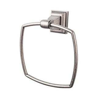Top Knobs STK5 Stratton Bath Towel Ring - n/a