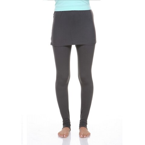 Skirted Leggings - Charcoal