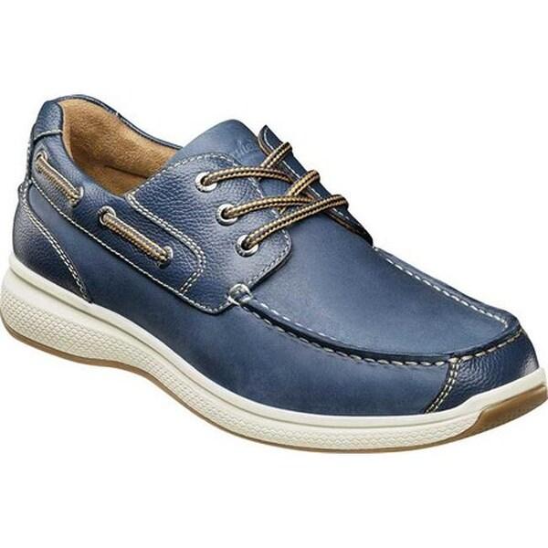 b931957893592 Shop Florsheim Men's Great Lakes Moc Toe Oxford Indigo Milled ...