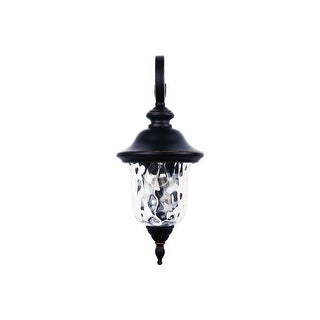 Link to 1 Light Outdoor Wall Lighting in Imperial Black Similar Items in Outdoor Wall Lights