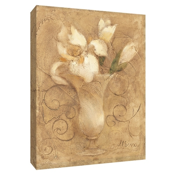 """PTM Images 9-154662 PTM Canvas Collection 10"""" x 8"""" - """"Mini Bouquet I"""" Giclee Flowers Art Print on Canvas"""