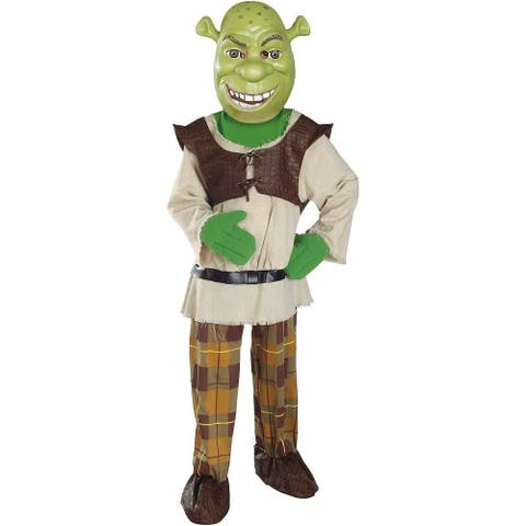 Shrek Deluxe Toddler Costume with Mask - Green