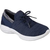 Skechers Women's YOU Spirit Slip-On Sneaker Navy/White