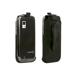 OEM Verizon Rubberized Belt Clip Holster for Samsung Fascinate SCH-I500 (Black)