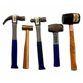 5 PC Hammer Set