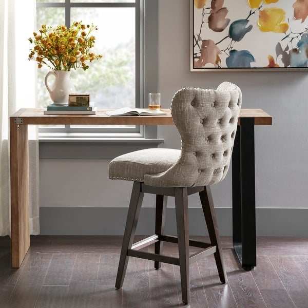 Madison Park Irvine Swivel Counter Stool. Opens flyout.