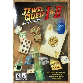 Jewel Quest I & II Solitaire PC [CD-ROM] Windows