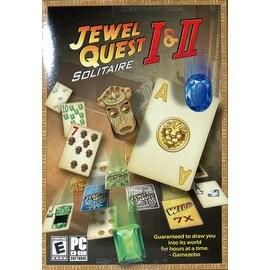 Jewel Quest I & II Solitaire PC [CD-ROM] Windows