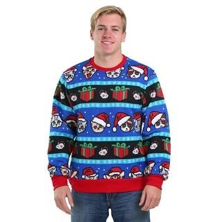 Santa Cats Ugly Christmas Sweater