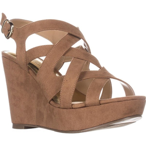 Thalia TS35 Maddor Casual Wedge Sandals - Tan - 9