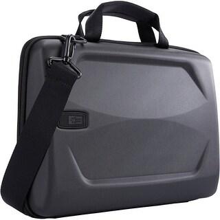 "Case Logic LHA-114BLACK Case Logic Carrying Case (Attache) for 15"" Notebook, MacBook Pro - Black - Ethylene Vinyl Acetate"