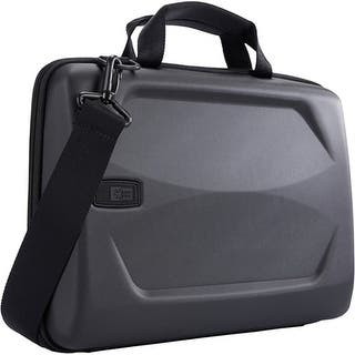 "Case Logic LHA-114BLACK Case Logic Carrying Case (Attache) for 15"" Notebook, MacBook Pro - Black - Ethylene Vinyl Acetate