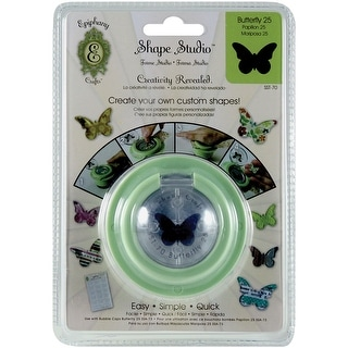 Epiphany Crafts Shape Studio Tool-Butterfly 25