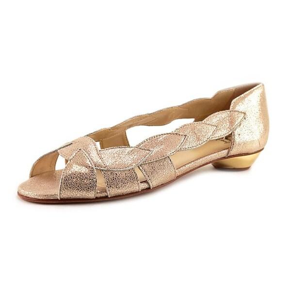 Amalfi By Rangoni Iside Women Open Toe Leather Sandals