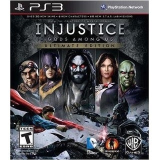 Injustice Gods Among Us Ultimate Edition - PlayStation 3